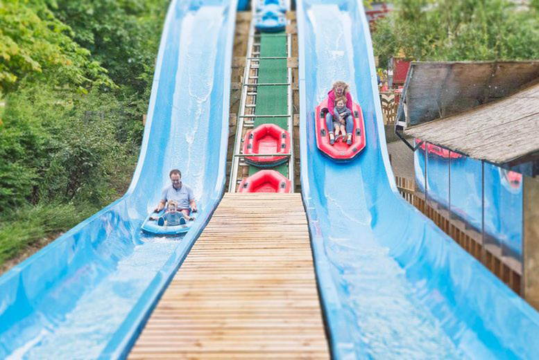 Image of A stay & play at Gulliver's Land, Milton Keynes with overnight accommodation and theme park entry. From £139 for one-day entry for up to 4 people, from £159 for one-day entry for 6 people, or from £179 for two-day entry - save up to 65%
