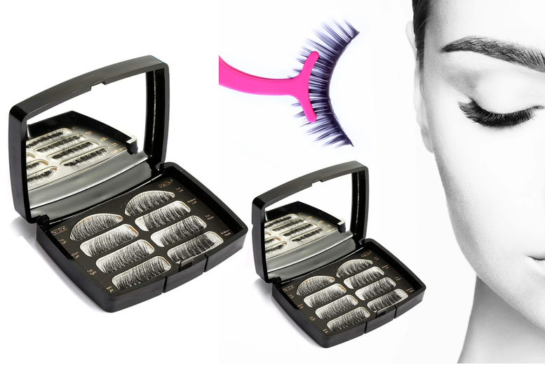 Image of From £7.99 for magnetic false lashes with mirror & applicator set from Forever Cosmetics - save up to 73%