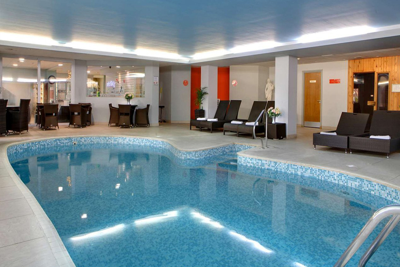 Image of £39 for one-hour spa access for two people at the Best Western Diplomat Hotel, Llanelli including a two-course lunch with a glass of Prosecco each - save up to 66%