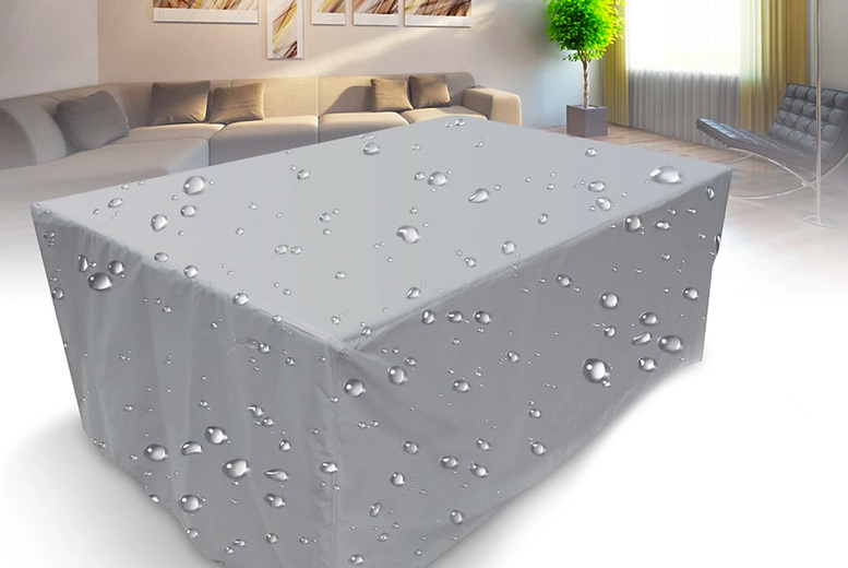 Image of From £9.99 instead of £29.99 for a waterproof outdoor furniture cover from E Life-Style - choose from seven sizes and save up to 67%