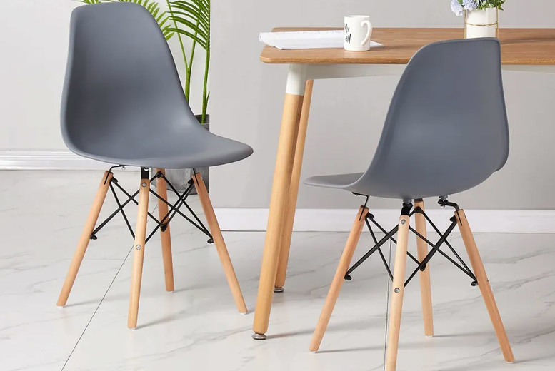 Image of £29 instead of £92.01 for one Alice designer dining chair, £44 for two chairs or £69 for four chairs from Home Design International - save up to 68%