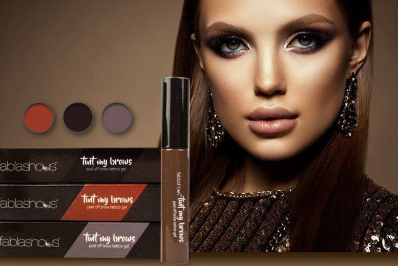 Image of From £2.99 for a Fablashous Peel Off Eyebrow Tint- 9 Colours !- from Forever Cosmetics - save up to 81%