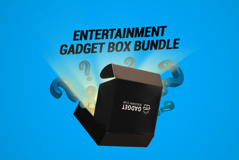 Image of £24 instead of up to £77.97 for a Mystery Gadget Box Bundle from Gadget Discovery Club - get two mystery gadgets and one everyday accessory, and save up to 69%