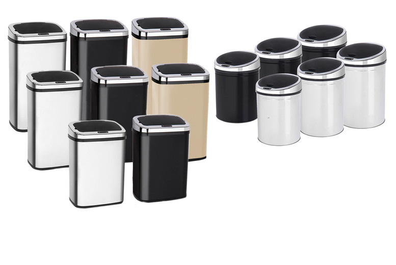 Image of From £29.99 for an automatic sensor kitchen bin - help keep your home clean!