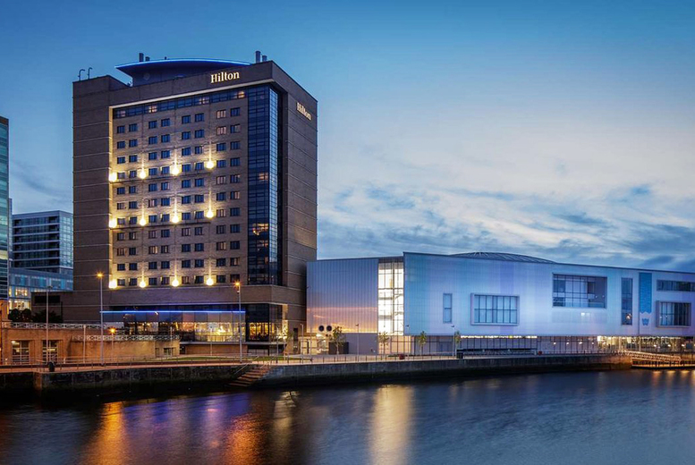 Image of A Belfast hotel stay at the Hilton Belfast for two people in a junior suite with breakfast and a welcome drink. From £129 for one night - save up to 40%