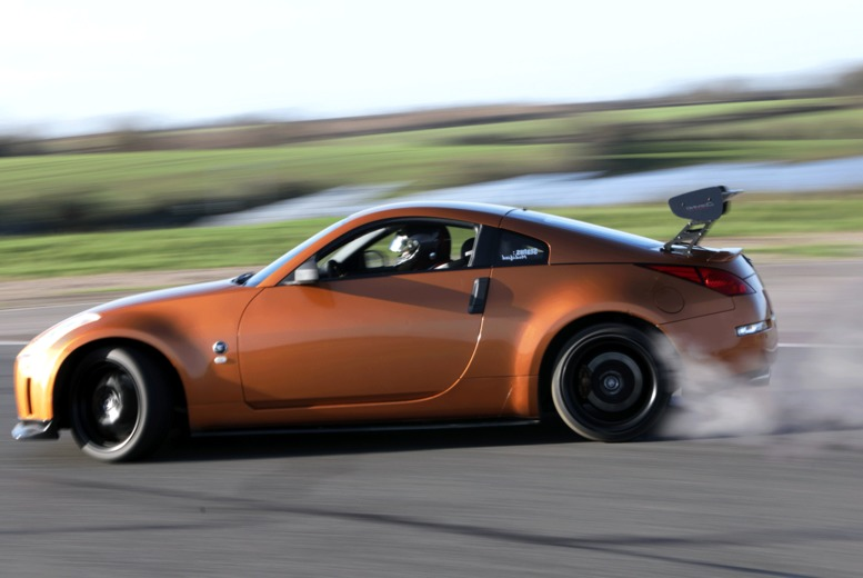 Image of £29 instead of £49 for a drift blast experience for one person in one car at Everyman Racing - choose from five locations and save 41%