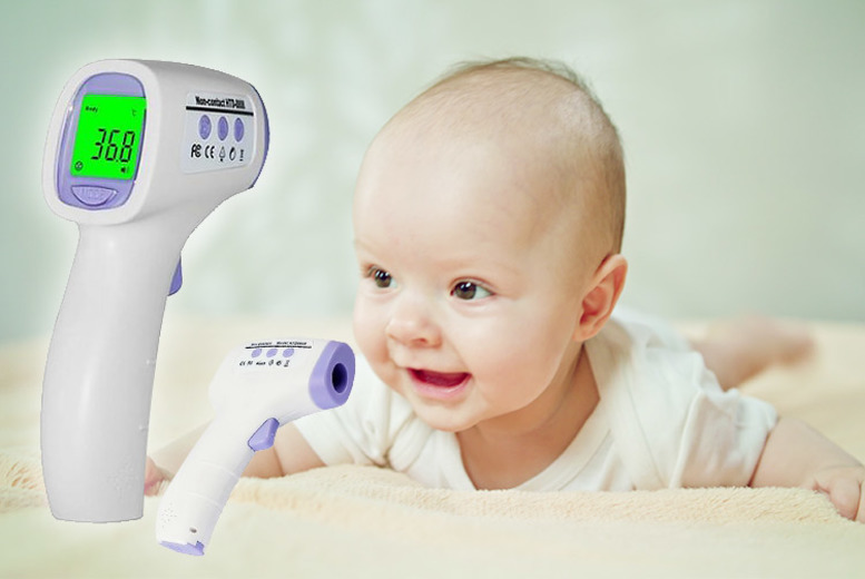 Image of £11.99 instead of £39.99 for a digital infrared baby thermometer! - Save 50%