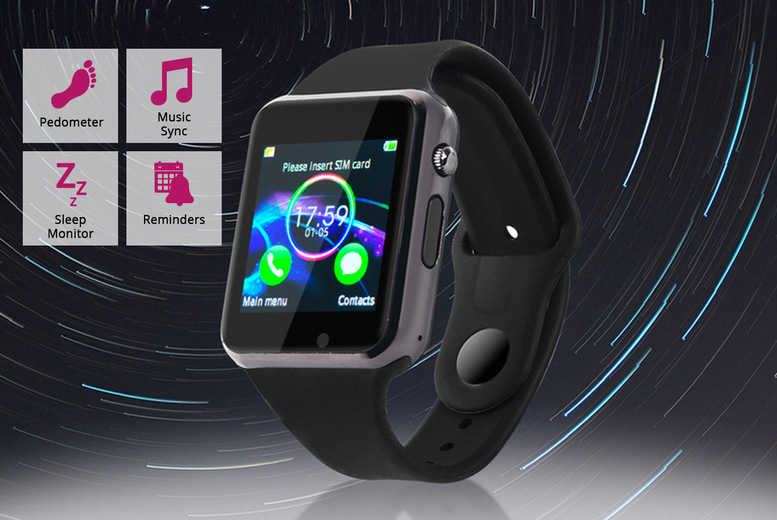 Image of £11.99 for a 15-in-1 smartphone compatible smart watch with 15 functions including camera control, pedometer, music selection and more!
