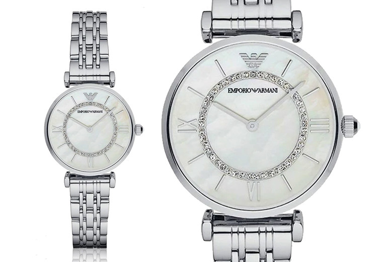 Image of £99 (from CJ Watches) for a ladies' Emporio Armani AR1908!