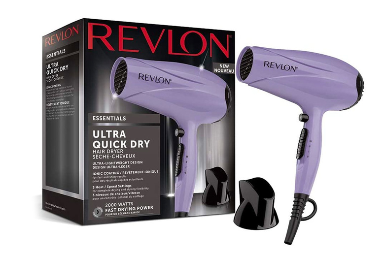 Image of £15.99 instead of £19.99 for a Revlon Essentials Ultra Quick hair dryer from Ricomex - save 20%