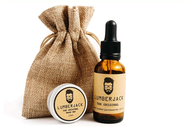Image of £11 instead of £21.99 for a beard oil and wax set from Lumberjack Beards - choose from four different scents and save 50%