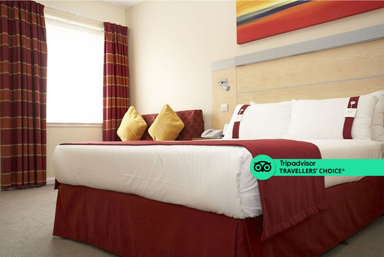 Image of A Redditch, Birmingham stay at the Holiday Inn Express Birmingham, Redditch for two people with one bottle of Prosecco to share, breakfast and 1pm late check out. £79 for two nights - save up to 62%