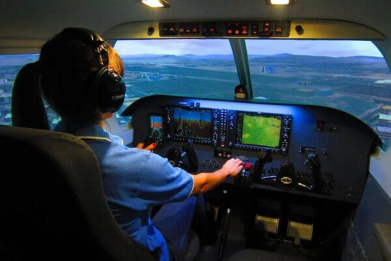 Image of From £29 for a 30-minute flight simulator experience for one person from Flight Sim Centre, Newcastle upon Tyne, from £49 for 60-minutes - choose from three aircrafts and save up to 51%
