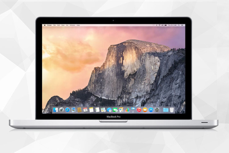"Image of From £379 instead of £690 for a refurbished 13"" Apple MacBook Pro with two hard drive options from Megamax - save up to 45%"