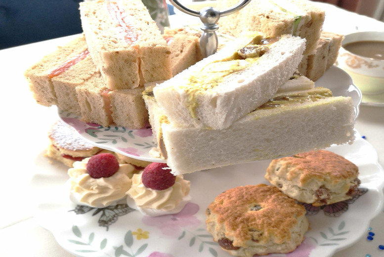 Image of £29 for an afternoon tea for two people with a bottle of Prosecco to share from Best Western Royal Beach Hotel, Southsea!