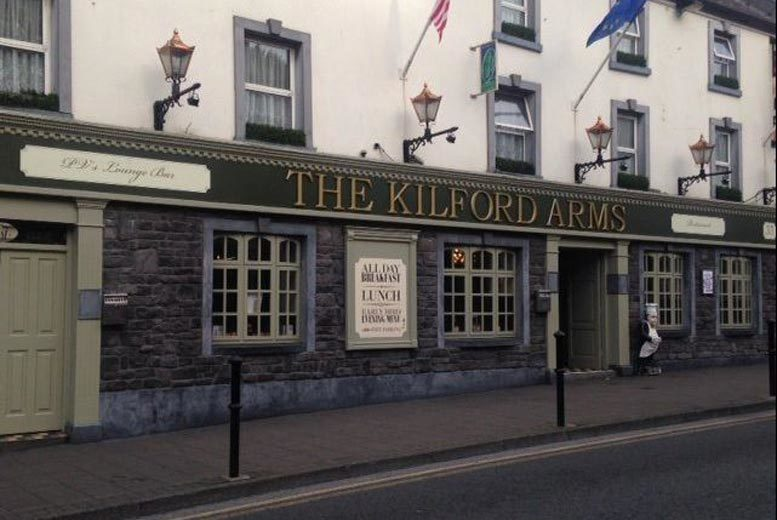 Image of A Kilkenny stay at Kilford Arms Hotel for two with breakfast and 1pm late check out. From £69 for an overnight stay, from £109 to include dinner on first night, from £129 for two nights, or from £189 for three nights - save up to 26%
