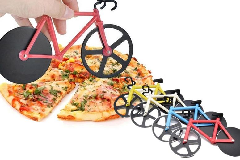 Image of From £4.99 for a Bike Wheel Pizza Cutter from Secret Storz- save up to 75%