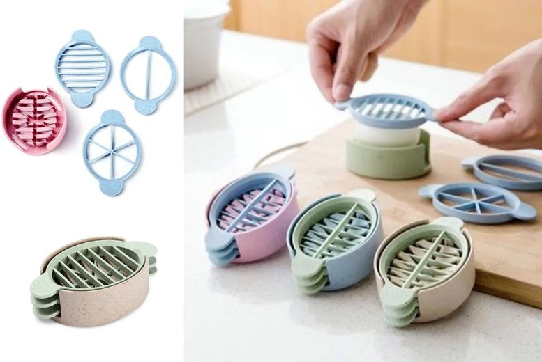 Image of From £4.99 for a 3-in-1 egg cutter from Secret Storz - save up to 75%