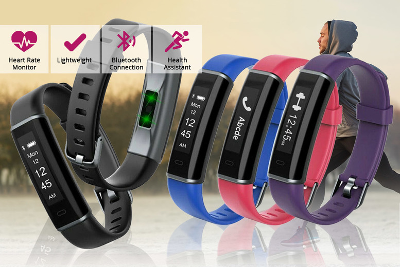 Image of £14.99 for a fitness tracker with heart rate monitor from Avant Garde