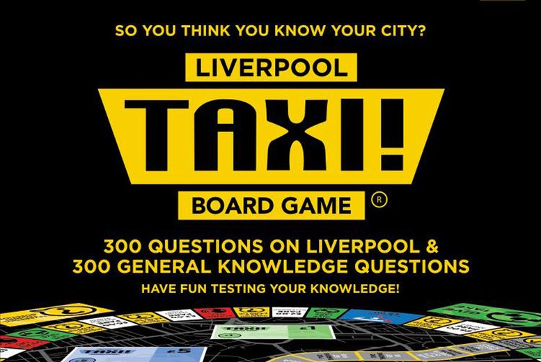 Image of £16 instead of £25.95 for the Liverpool Taxi! Board Game from Taxi Game Ltd – let the fun begin and save 38%