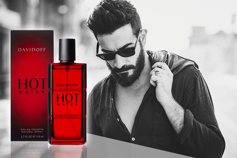 Image of £16.99 instead of £50 for a 110ml bottle of Davidoff Hot Water eau de toilette for men - spritz and save 66%
