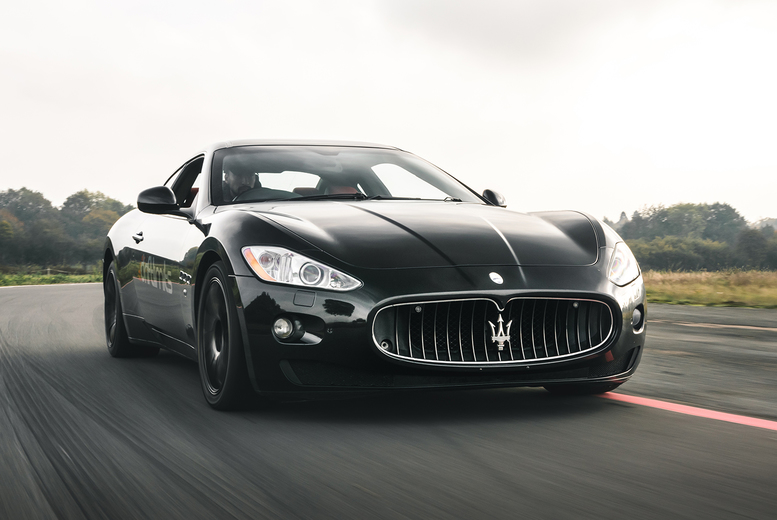 Image of £39 for an eight-lap Maserati GranTurismo driving experience at Drift Limits, Hemel Hempstead. £59 for 12 laps - save up to 50%