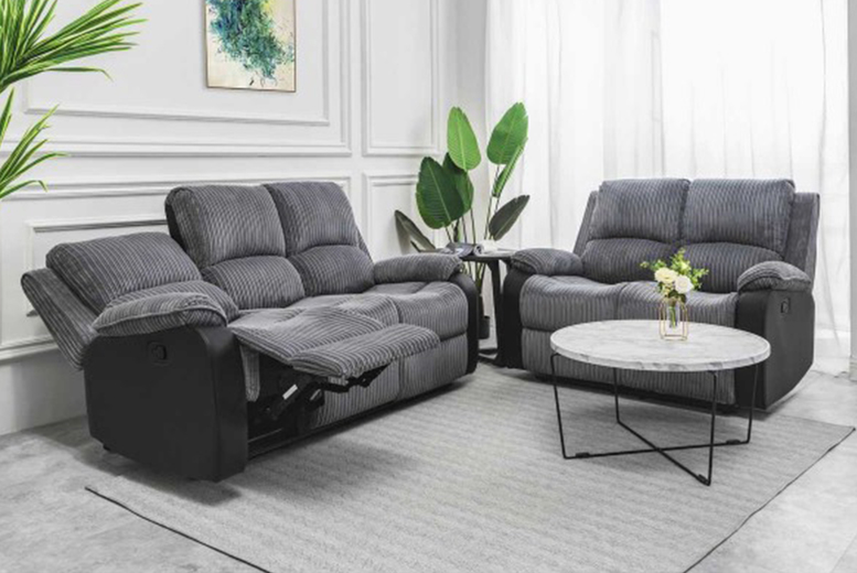 Image of £189 for a grey fabric recliner chair, upgrade for a two-seater sofa, three-seater sofa or sofa set from Dreams Outdoors