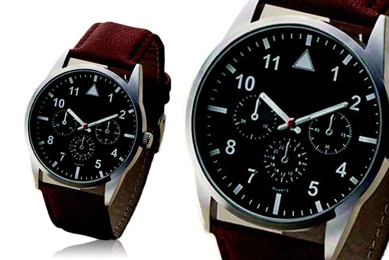 Image of £14 instead of £39.99 for a men's H66211 fashion watch from Personal Choice - save 65%