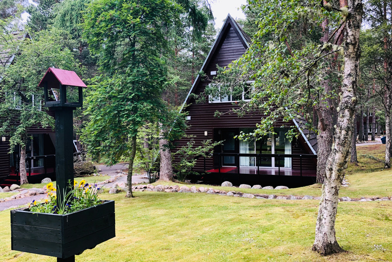 Image of A self-catered Aviemore, Highlands stay at Coylumbridge Highland Lodges for up to six people. From £249 for three nights, or from £319 for four nights - save up to 70%