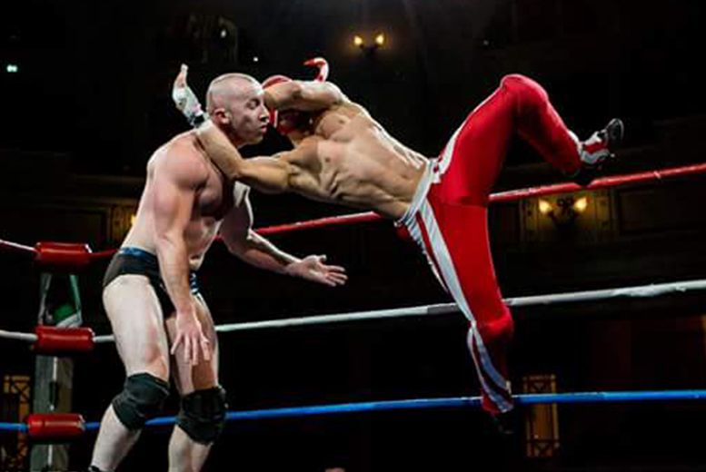 Image of £8.50 instead of up to £15 for a ticket to see live American wrestling, or £22 for a family ticket - choose from 23 locations and save up to 43%