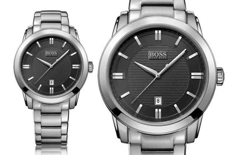 Image of £129 for a stainless steel Hugo Boss men's watch from Best Watch Company