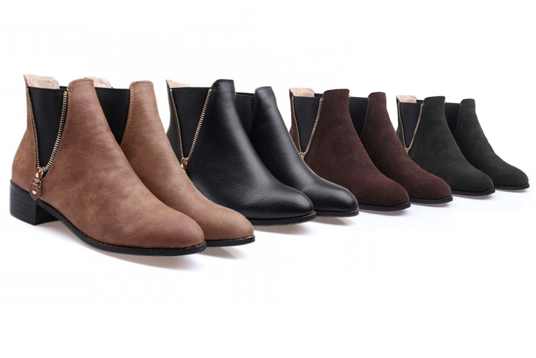 Image of £19.99 for a pair of Merino wool-lined Chelsea boots from Evaniy!
