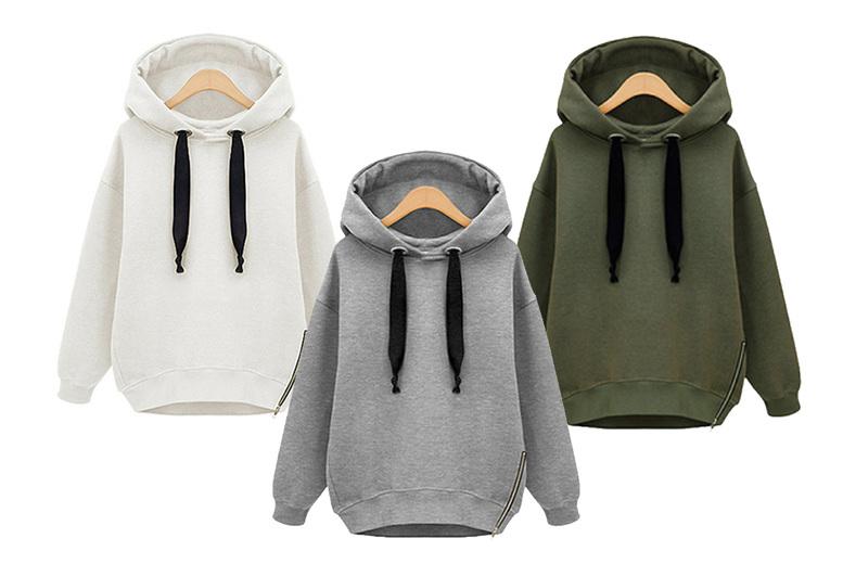 Image of £11 for a women's hooded fleece jumper from Huundo-P!
