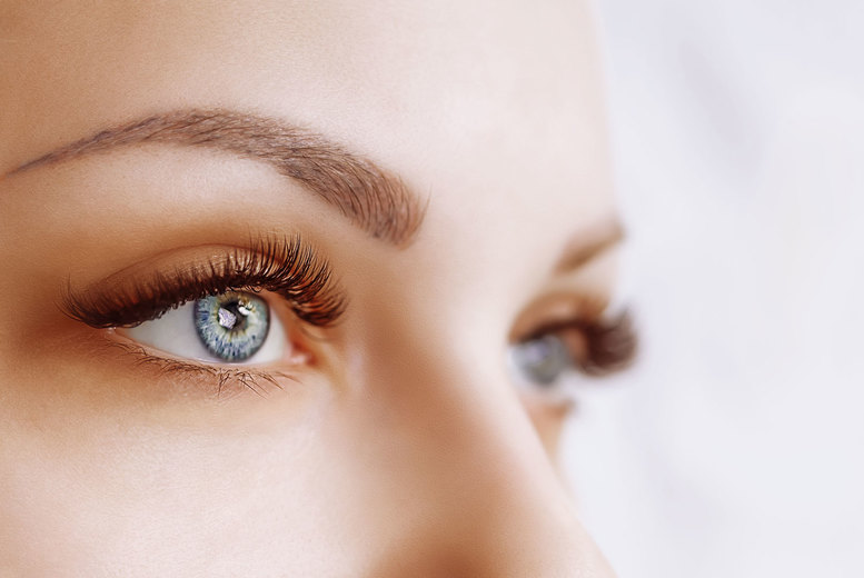 Image of £12 instead of £25 for a half set of classic mink lash extensions. or £19 for a full set at Fire Hut, Woolwich - save up to 52%
