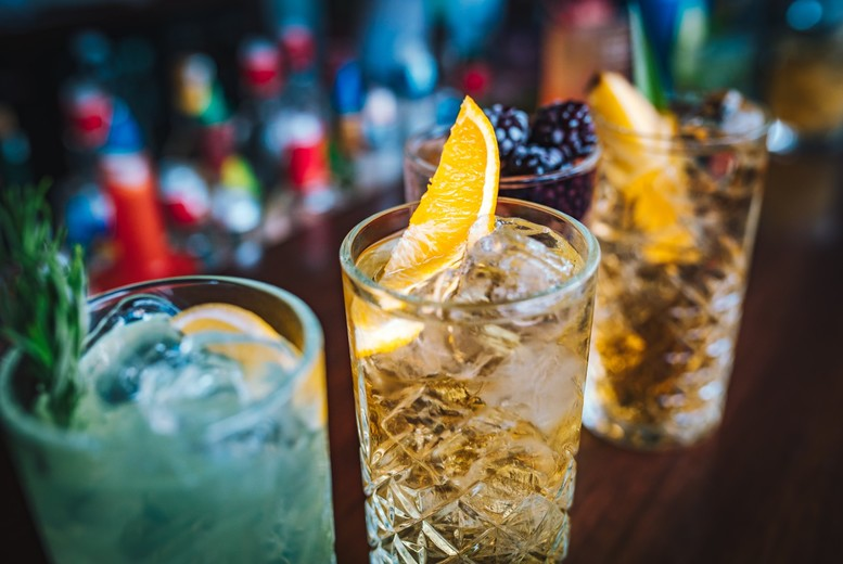 Image of £38 instead of £50 for a gin tasting experience for two people at Jenever Gin Bar, Liverpool including four selected gins. £76 for four people - save up to 24%