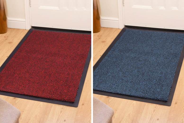 Image of From £4.99 instead of £29.99 for a 'dirt grabber' doormat in five sizes from Fusion Online - save up to 83%