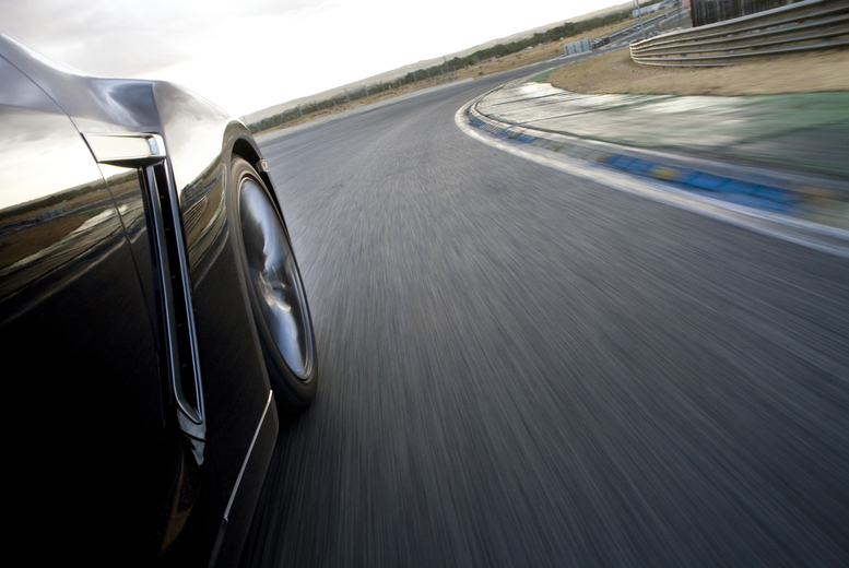Image of £39 instead of £78 for an 8-lap Aston Martin V8 Vantage driving experience at Drift Limits, Hertfordshire. £59 for 12-laps - save up to 50%