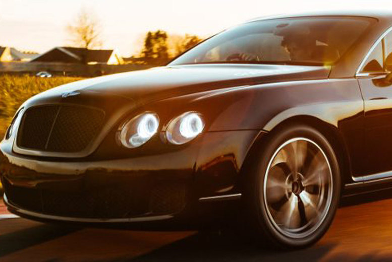 Image of £39 instead of £78 for an 8-lap Bentley Continental GT driving experience, or £59 for 12-laps at Drift Limits, Hemel Hempstead - save up to 50%