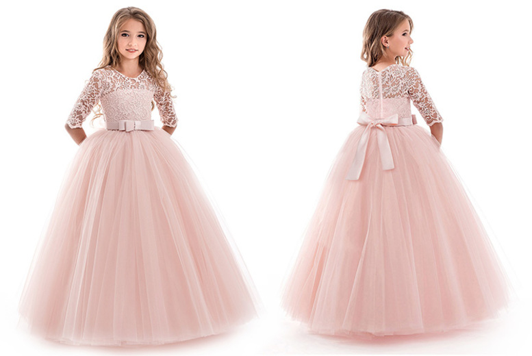 Image of £12.99 instead of £46 for a kids' party princess dress from Secret Storz - save 72%