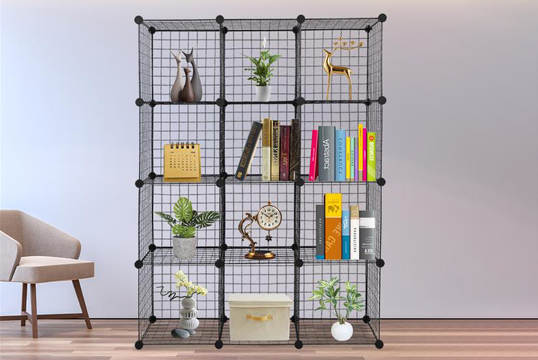 Image of £32 instead of £49.99 for a 12-cube storage organiser or £42 for a 16-cube universal organiser from Cufflinks Gift Hub - save up to 36%