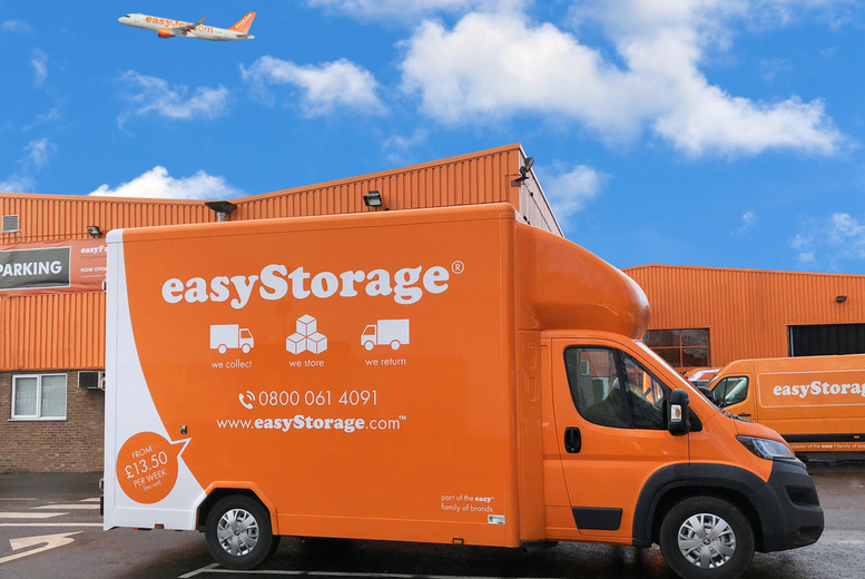Image of £5 for £75 to spend on easyStorage collection and self-storage services - whether you're moving home or making room, enjoy convenient collection from 11 regions and save 93%