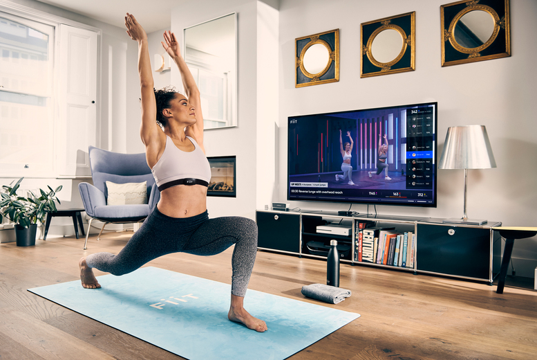 Image of £5 instead of £20 for one month of online fitness classes with Fiit including a two-week complimentary trial - join the fitness club used by Fearne Cotton, Maya Jama, Tom Daley, Chessie King, Gabby Allen and more, and save 75%
