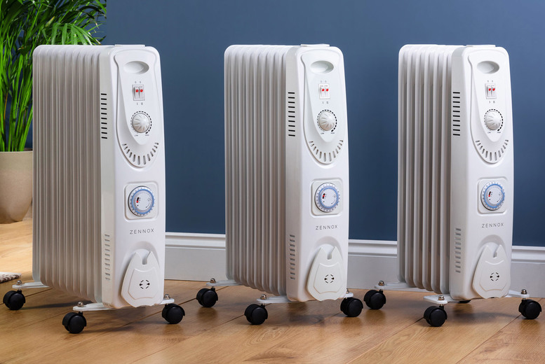 Image of From £34.99 instead of £79.99 for a Zennox oil filled heater in 1500w, 2000w or 2500w from CJ Offers - save up to 56%