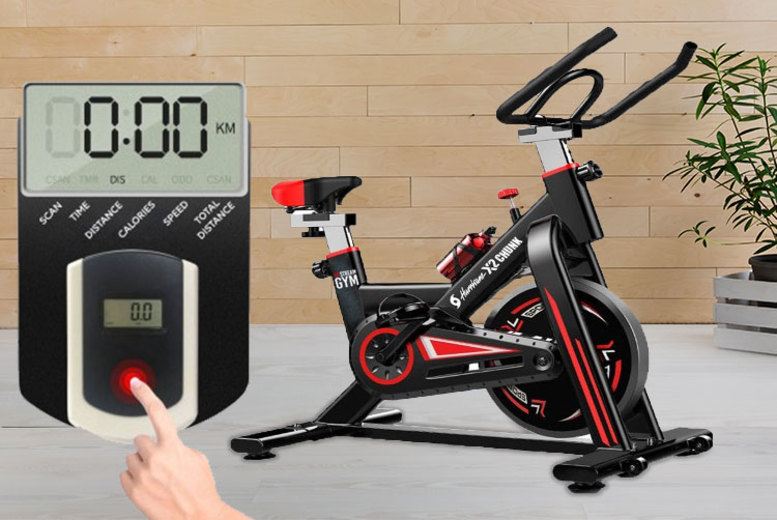 Image of £279 instead of £399 for a Hurricane X2 spinning exercise bike from Bing Bang Bosh - save 30%