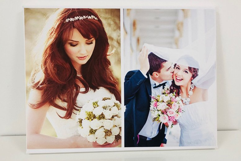 Image of From €5.99 for an A3 or A2 personalised canvas from Deco Matters - save up to 86%