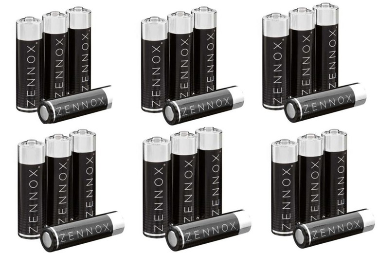 Image of From £5.99 for a Zennox AA or AAA battery bundle from BVG - save up to 67%