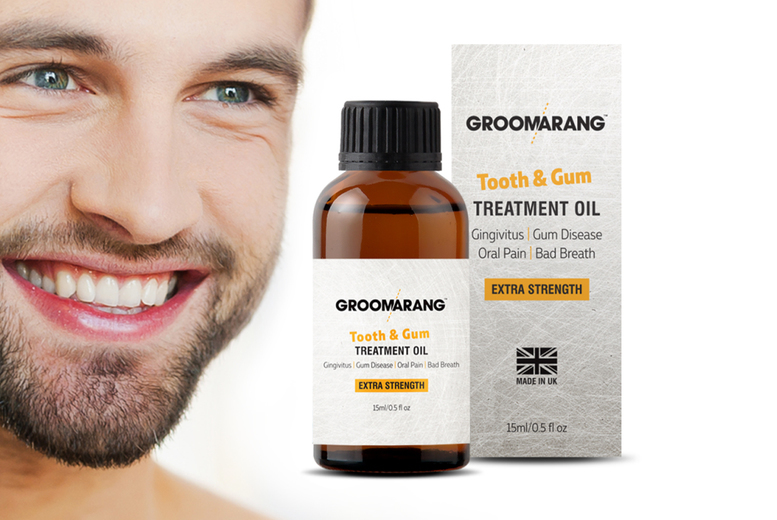 Image of From £4.99 forTooth & Gum Oil Treatment from Forever Cosmetics - save up to 67%