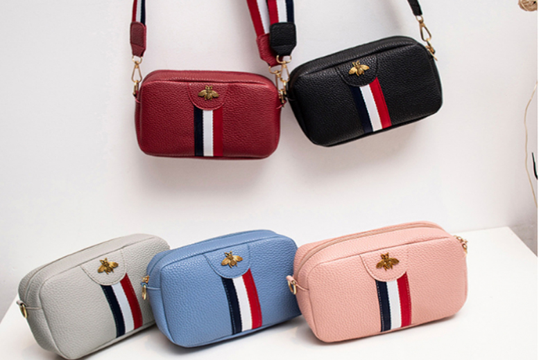 Image of £9.99 instead of £19.99 for a Women's Faux Leather Cross Body Bag from hey4beauty - save 50%