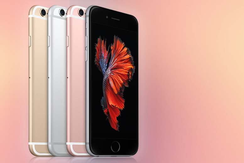 Image of From £99 for a refurbished unlocked 16GB Apple iPhone 6s with a limited number available for £89, or £139 for a 64GB model from Renew Electronics - choose gold, silver or space grey!