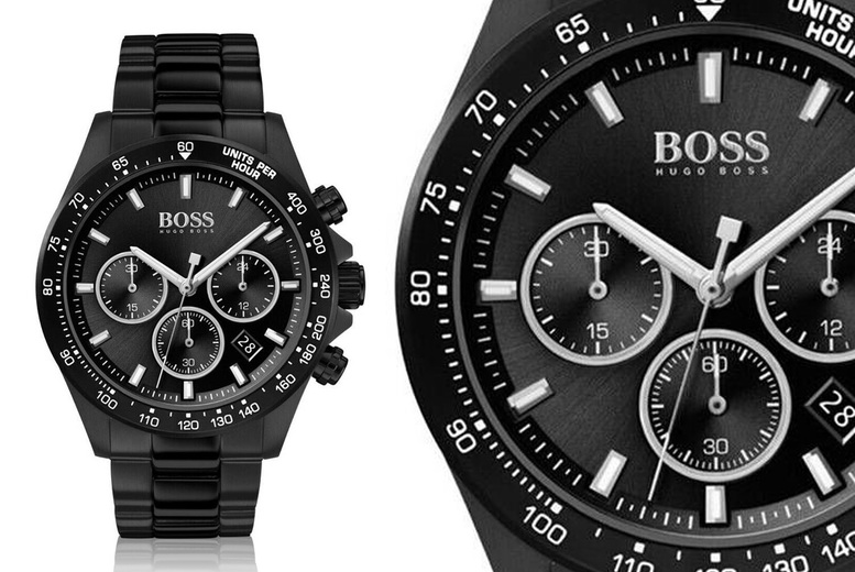 Image of £149 instead of £499.99 for a men's Hugo Boss Hero Sport HB1513754 watch from Demand Tic! - Save 70%